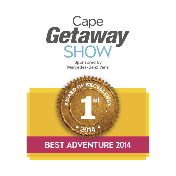 Best Adventure - First Place - Cape Getaway Show 2014-White