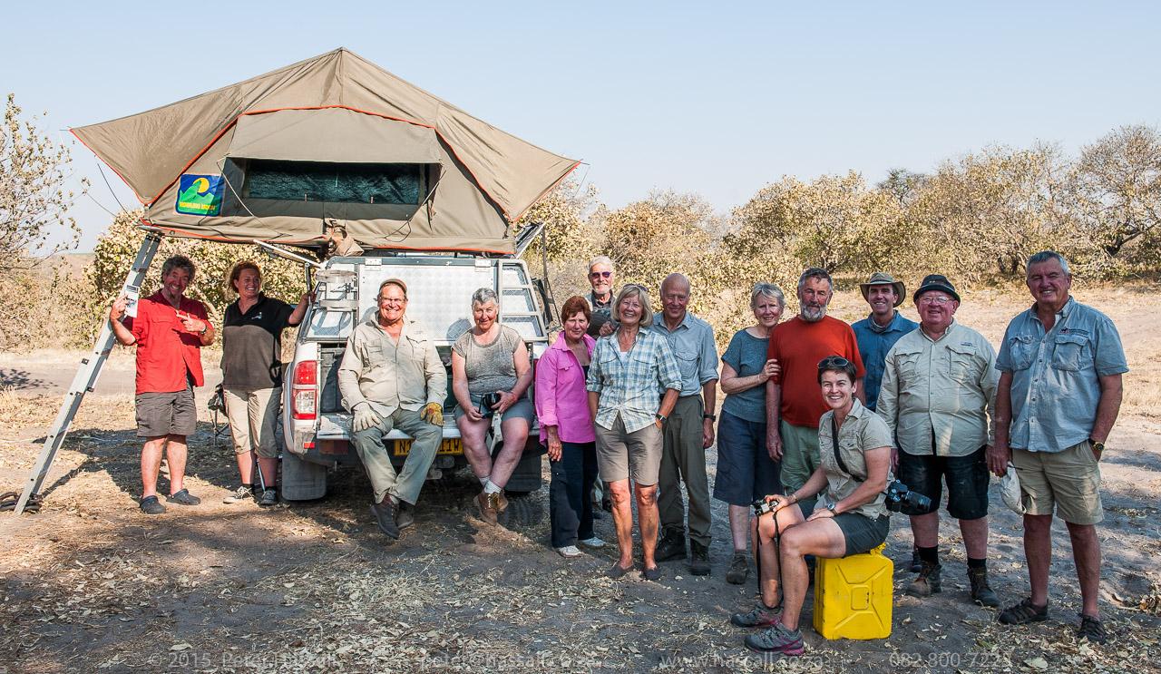 Botswana Camping