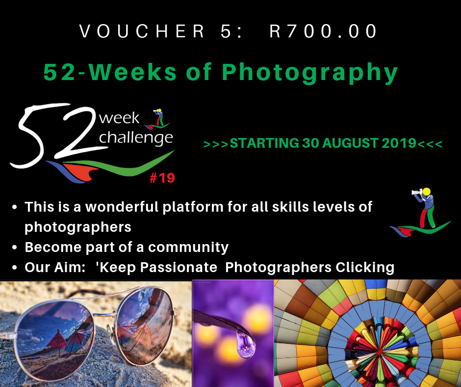 VOUCHER 5 - 52 WEEKS OF PHOTOGRAPHY